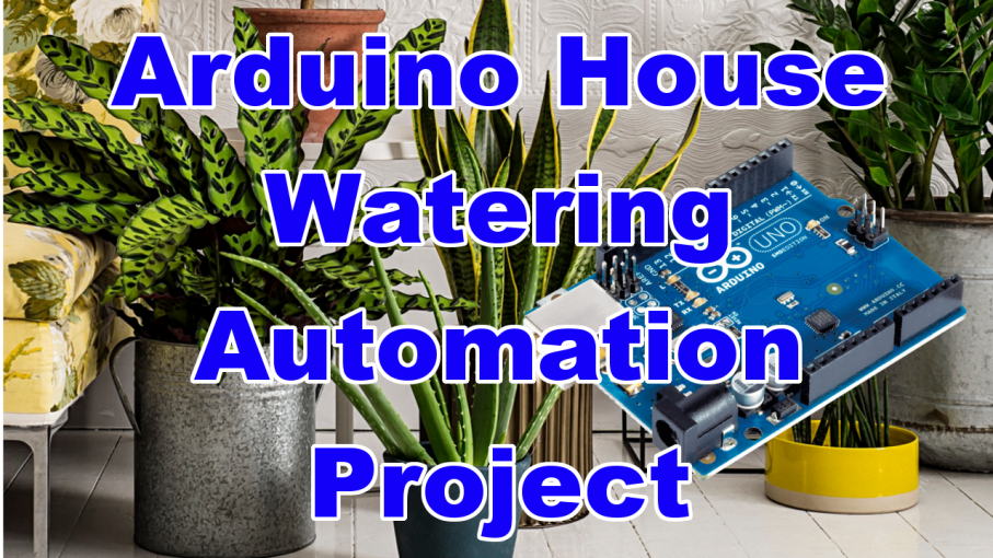 plant watering automation arduino