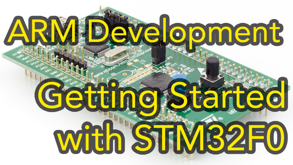 stm32 discovery arm development