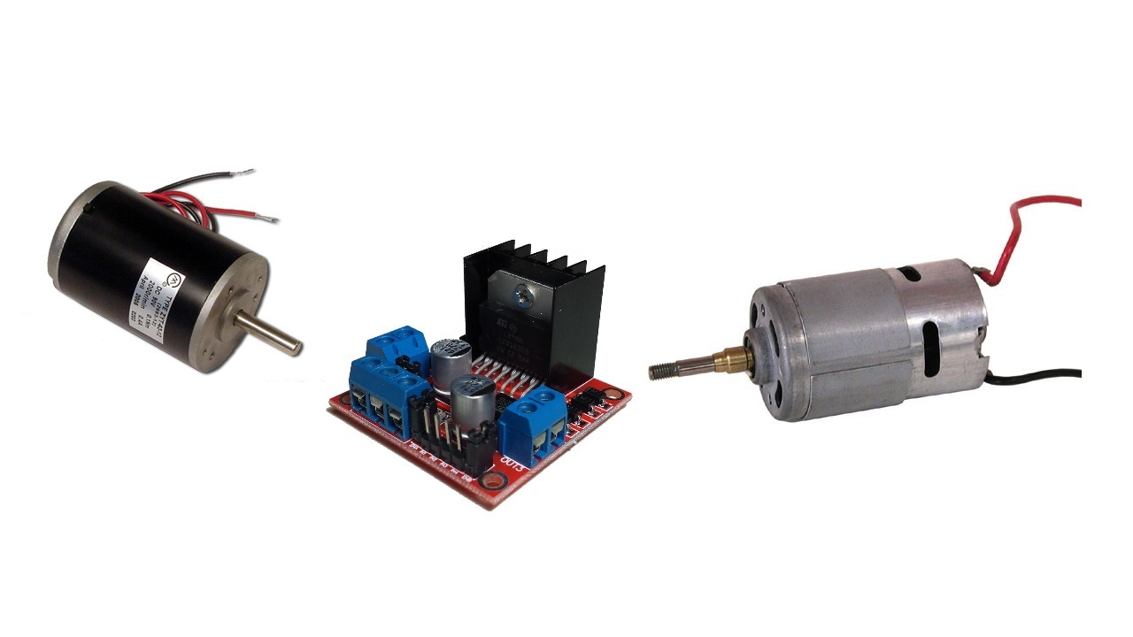Arduino Tut16 Dc Motor Drives Voltage Direction H Bridge Pwm Circuit Diagram With Forward Reverse View Larger Image