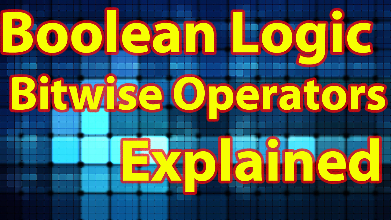 Boolean Logic Bitwise Operators Tutorial And Walkthrough In Swift View Larger Image