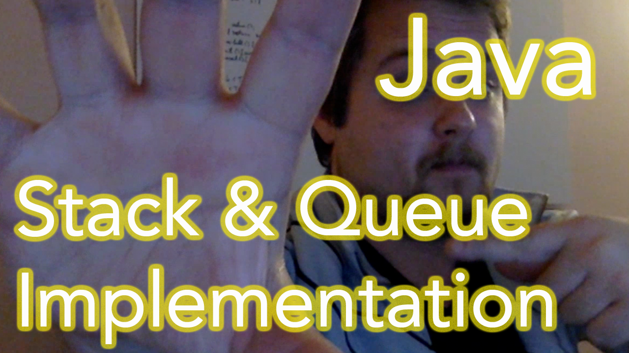 java stacks and queues