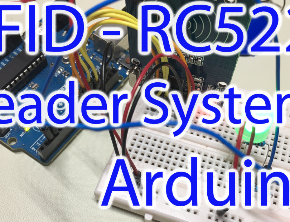 Arduino RFID Tutorial & Implementation, RC522 Module Read Example Project