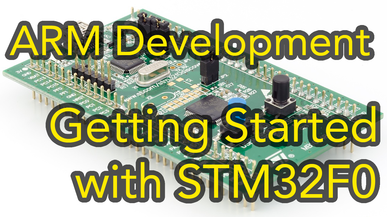 Arm Development #2 – STM32 Cortex-M0 I2C Tutorial using