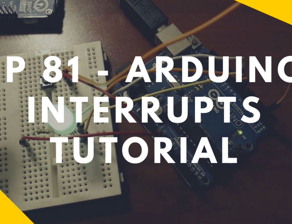 Arduino Interrupts Button Tutorial Example – Pin 2 Hardware